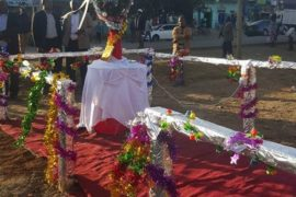 Nyandarua Governor launches Sh 2 Million Christmas tree in Olkalou