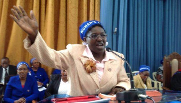 Helen Muchogu P.C.E.A Nairobi Region Woman's Guild Organizer