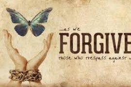 Forgive Us Our Sins….